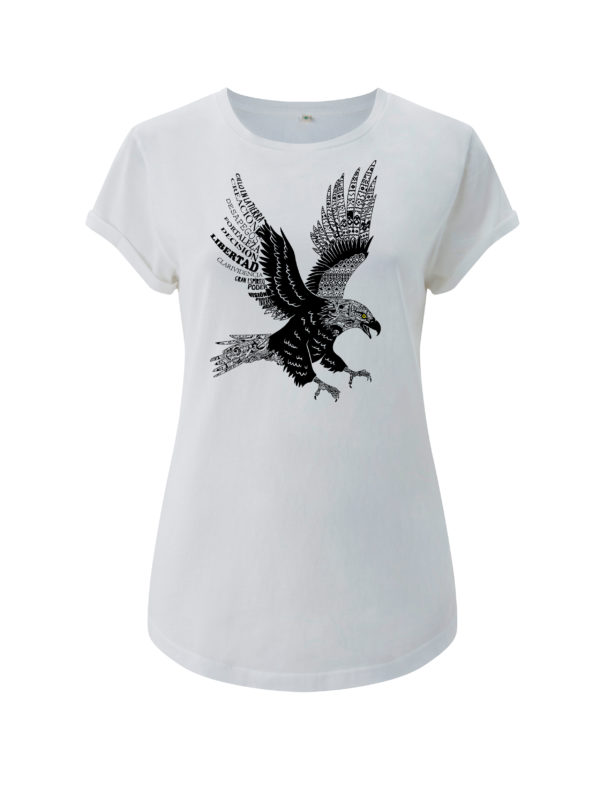 camiseta aguila animal de poder animal totemico animales de poder animales totemicos