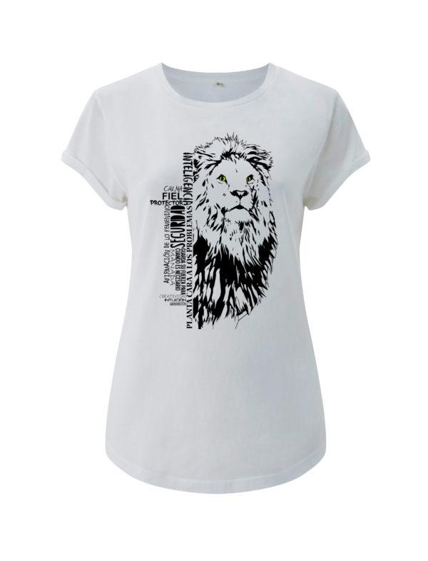 camiseta leon animal de poder animal totemico animales de poder animales totemicos