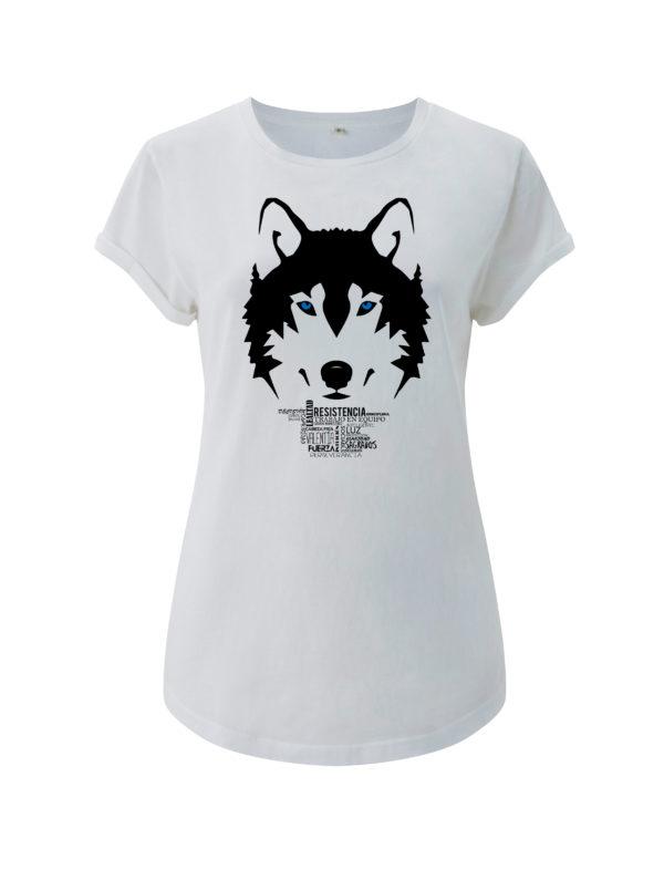 camiseta lobo animal de poder animal totemico animales de poder animales totemicos
