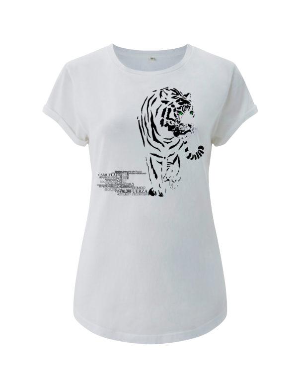 camiseta tigre animal de poder animal totemico animales de poder animales totemicos
