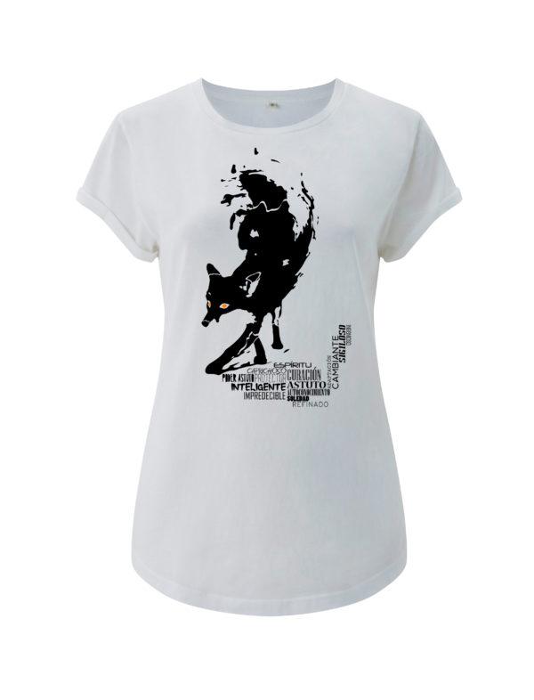camiseta zorro animal de poder animal totemico animales de poder animales totemicos