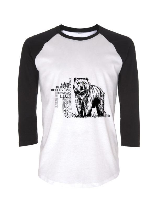 camiseta oso animal de poder animal totem animales de poder animales totemicos