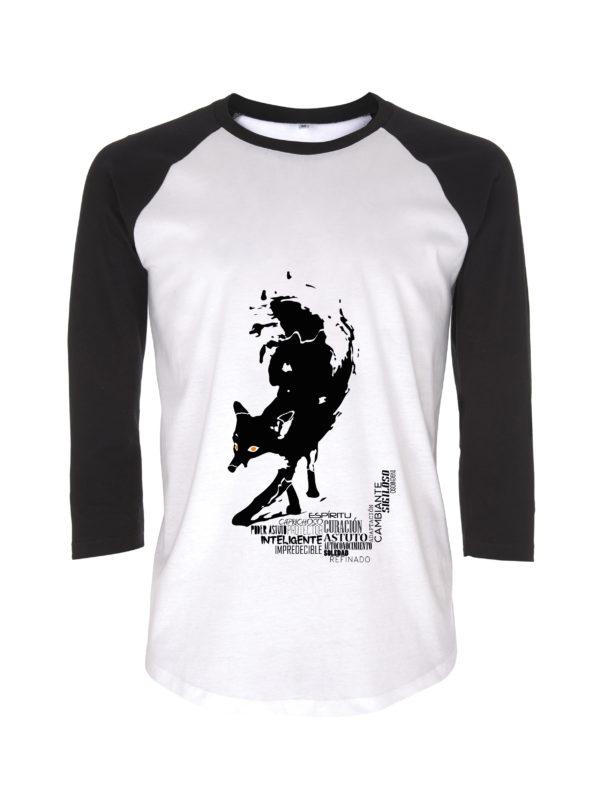 camiseta zorro animal de poder animal totem animales de poder animales totemicos
